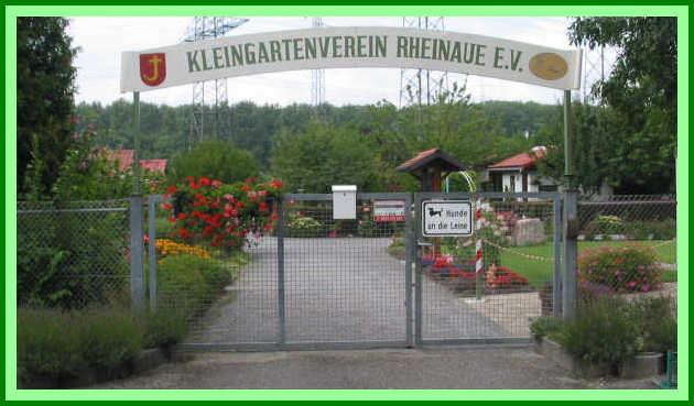 Kleingartenverein Rheinaue E V Karlsruhe